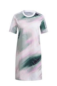 adidas Originals Bellista jurk wit/roze/groen, Wit/roze/groen