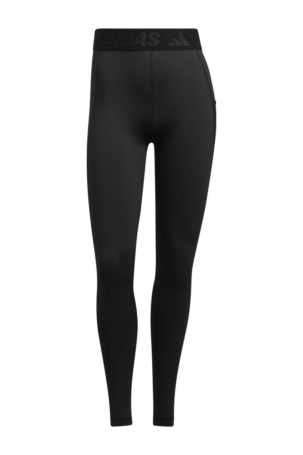 adidas Performance sportlegging zwart/wit, Zwart/wit