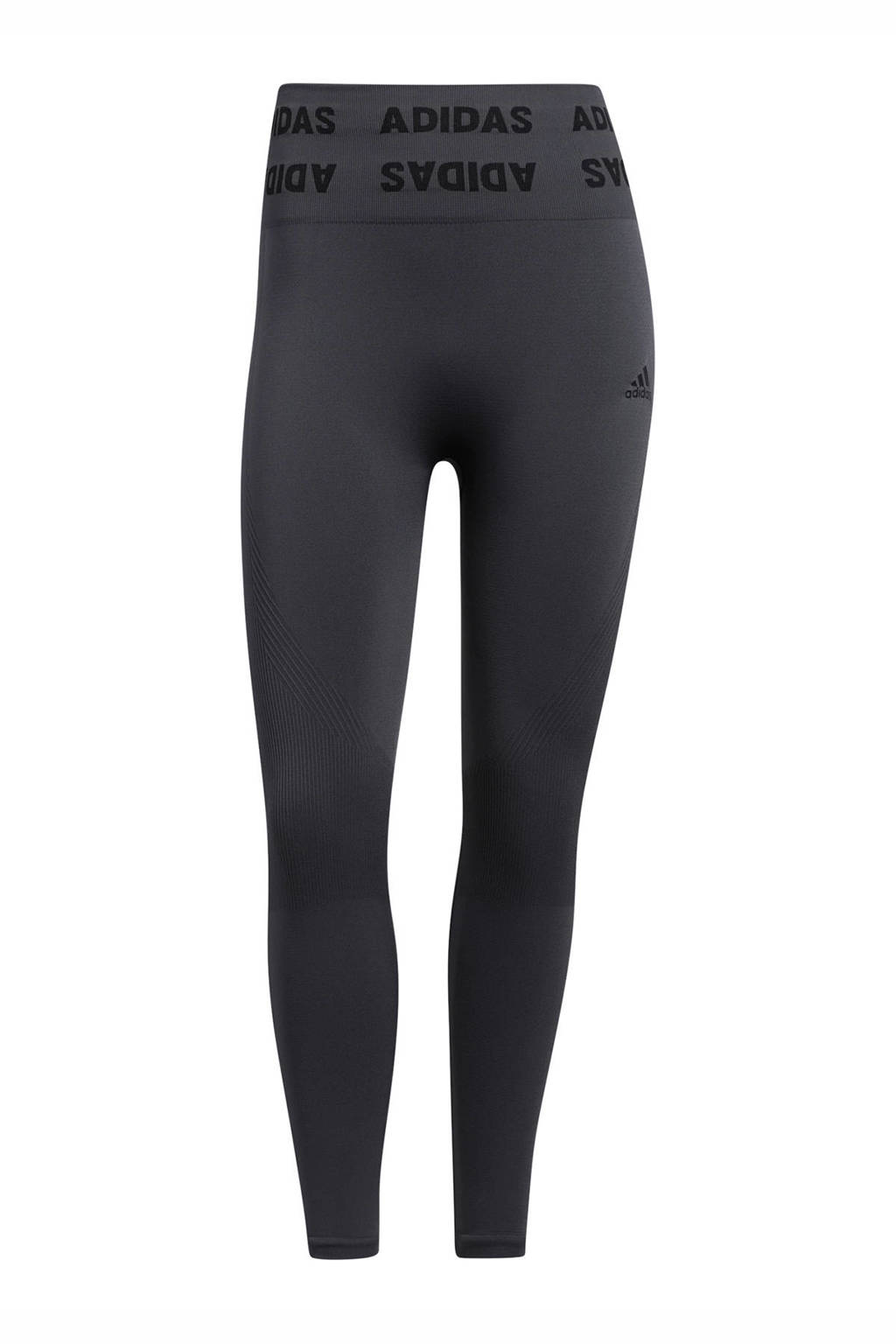 adidas Performance Aeroknit Designed4Training sportlegging grijs, Grijs