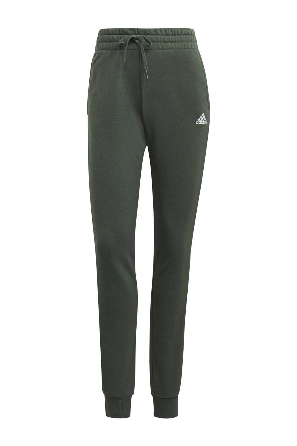 adidas Performance joggingbroek groen/wit, Groen/wit