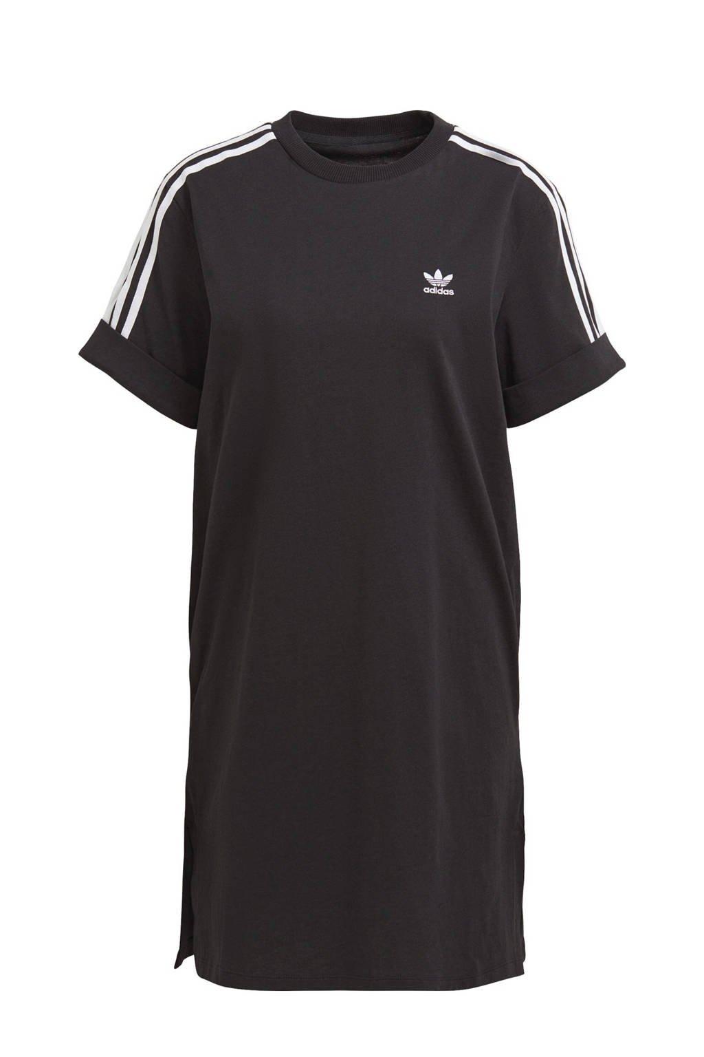 adidas Originals Adicolor T-shirt jurk zwart, Zwart
