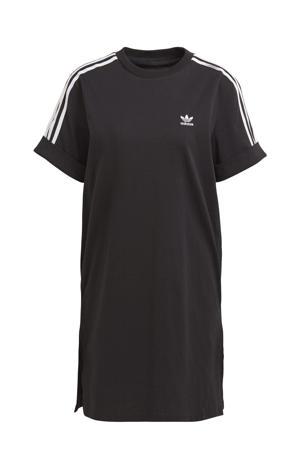 Adicolor T-shirt jurk zwart