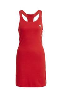 adidas Originals Adicolor jurk rood, Rood