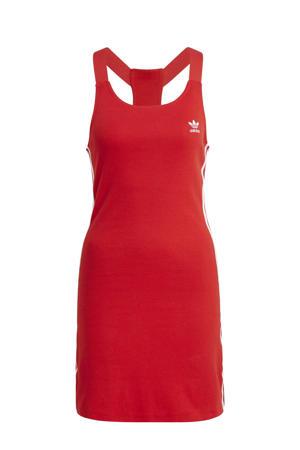 Adicolor jurk rood