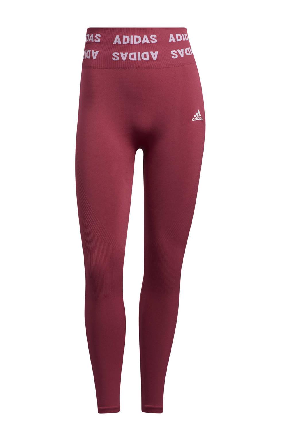 adidas Performance Aeroknit Designed4Training sportlegging roze, Roze