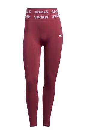 Aeroknit Designed4Training sportlegging roze