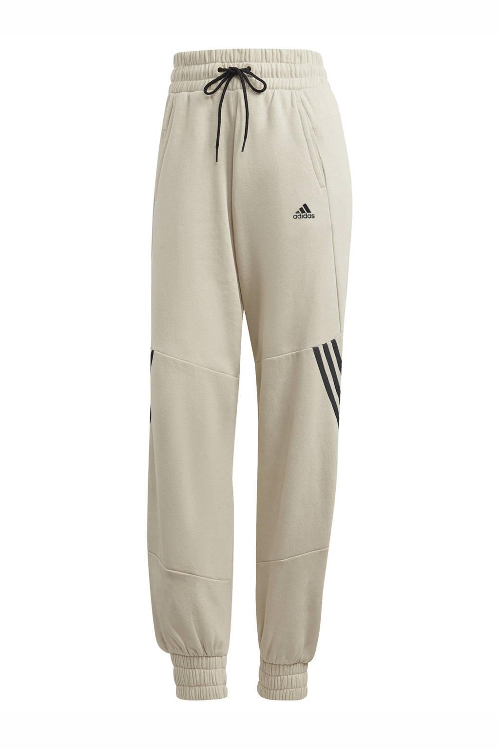 adidas Performance sportbroek beige/zwart, Beige/zwart