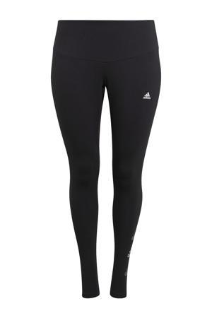 Plus Size sportlegging zwart