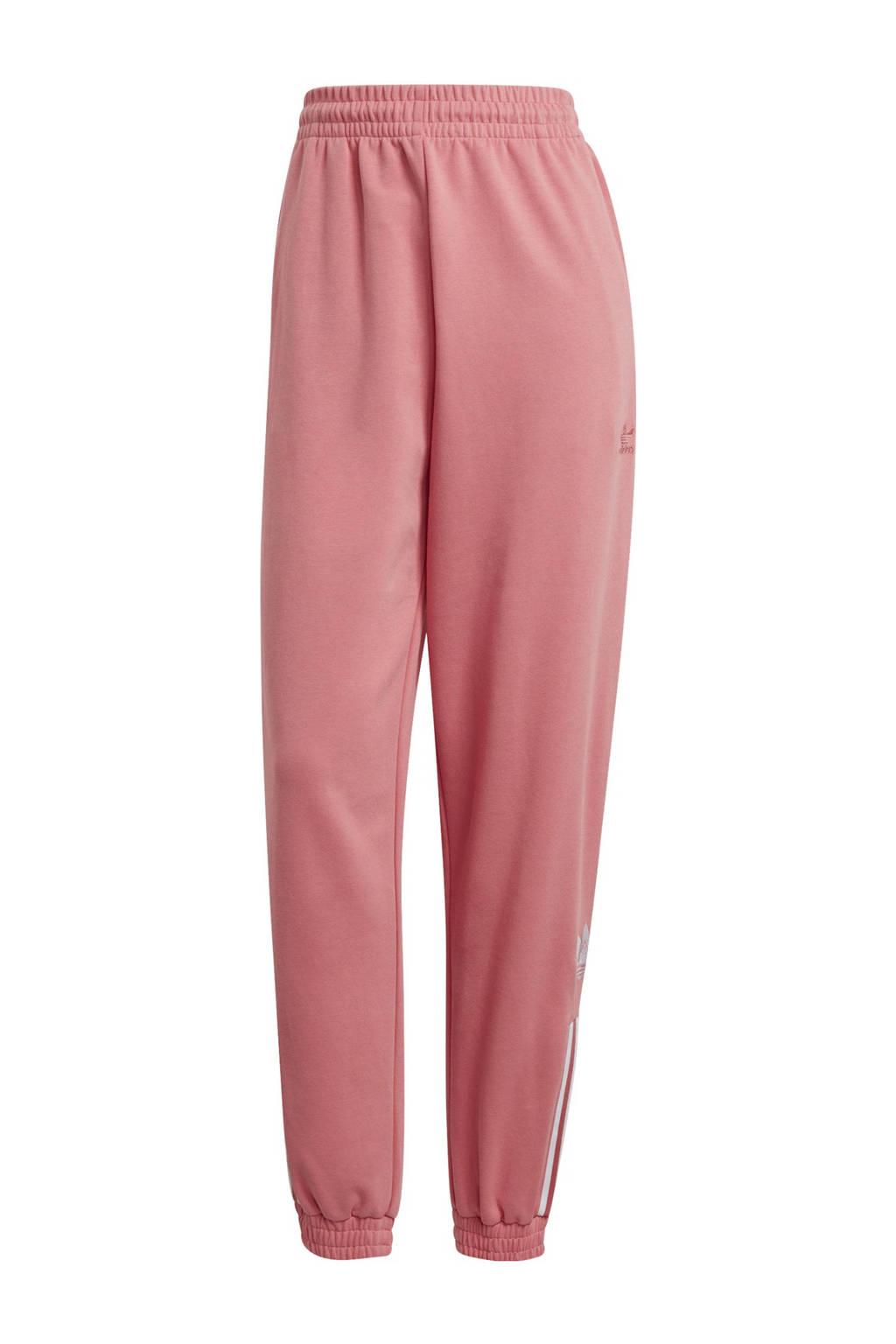 adidas Originals Adicolor joggingbroek roze/wit, Roze/wit