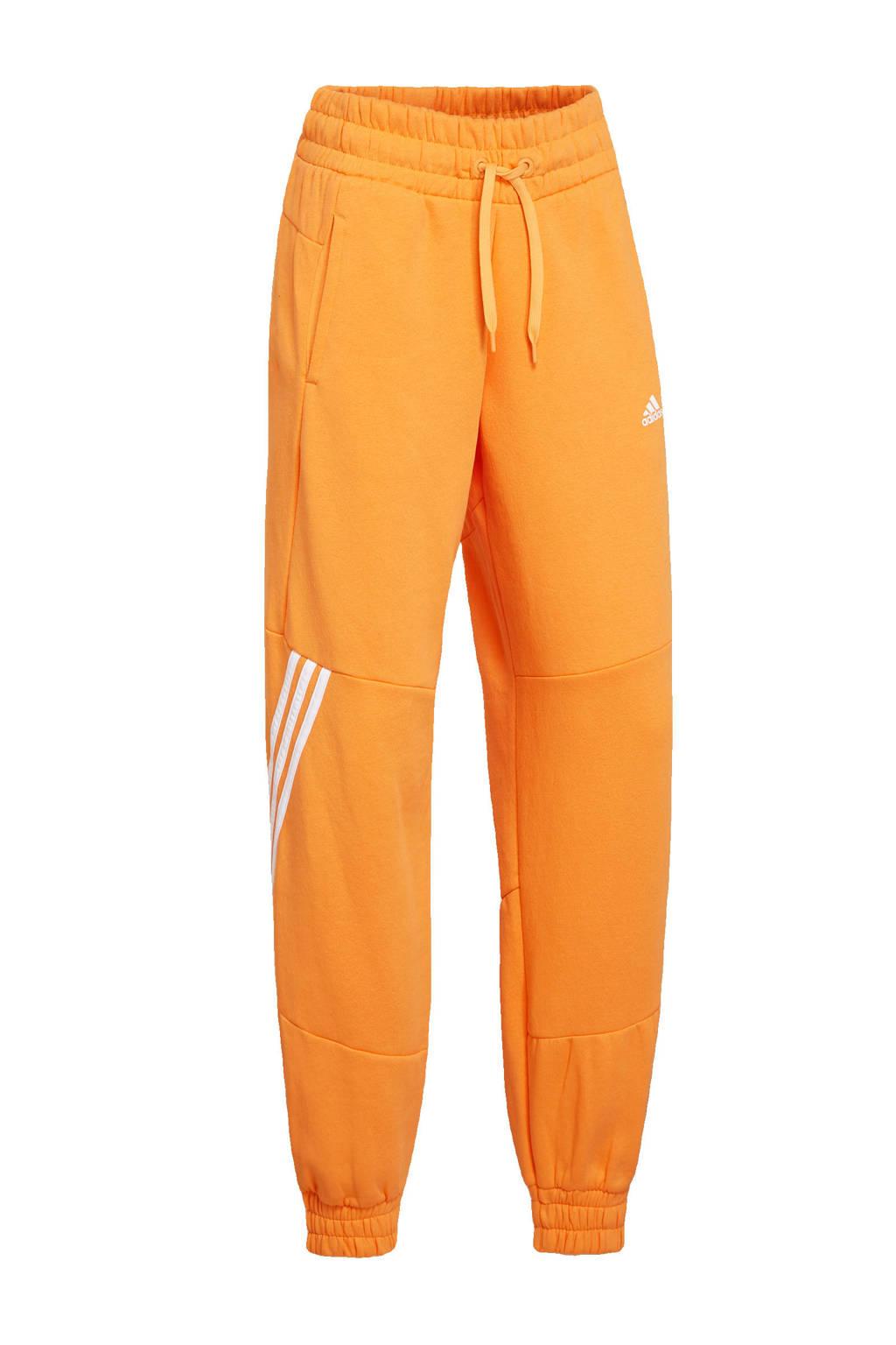 adidas Performance joggingbroek oranje/wit, Oranje/wit