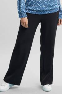 GREAT LOOKS wide leg tregging zwart, Zwart