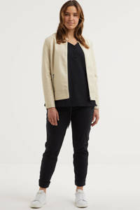 GREAT LOOKS travel top zwart, Zwart
