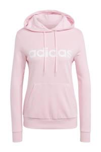 adidas Performance sporthoodie roze/wit, Roze/wit