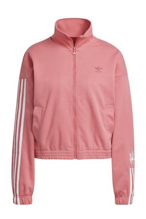 Adicolor vest roze/wit