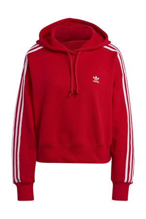 Adicolor hoodie rood