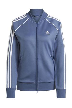 Superstar Adicolor vest blauw