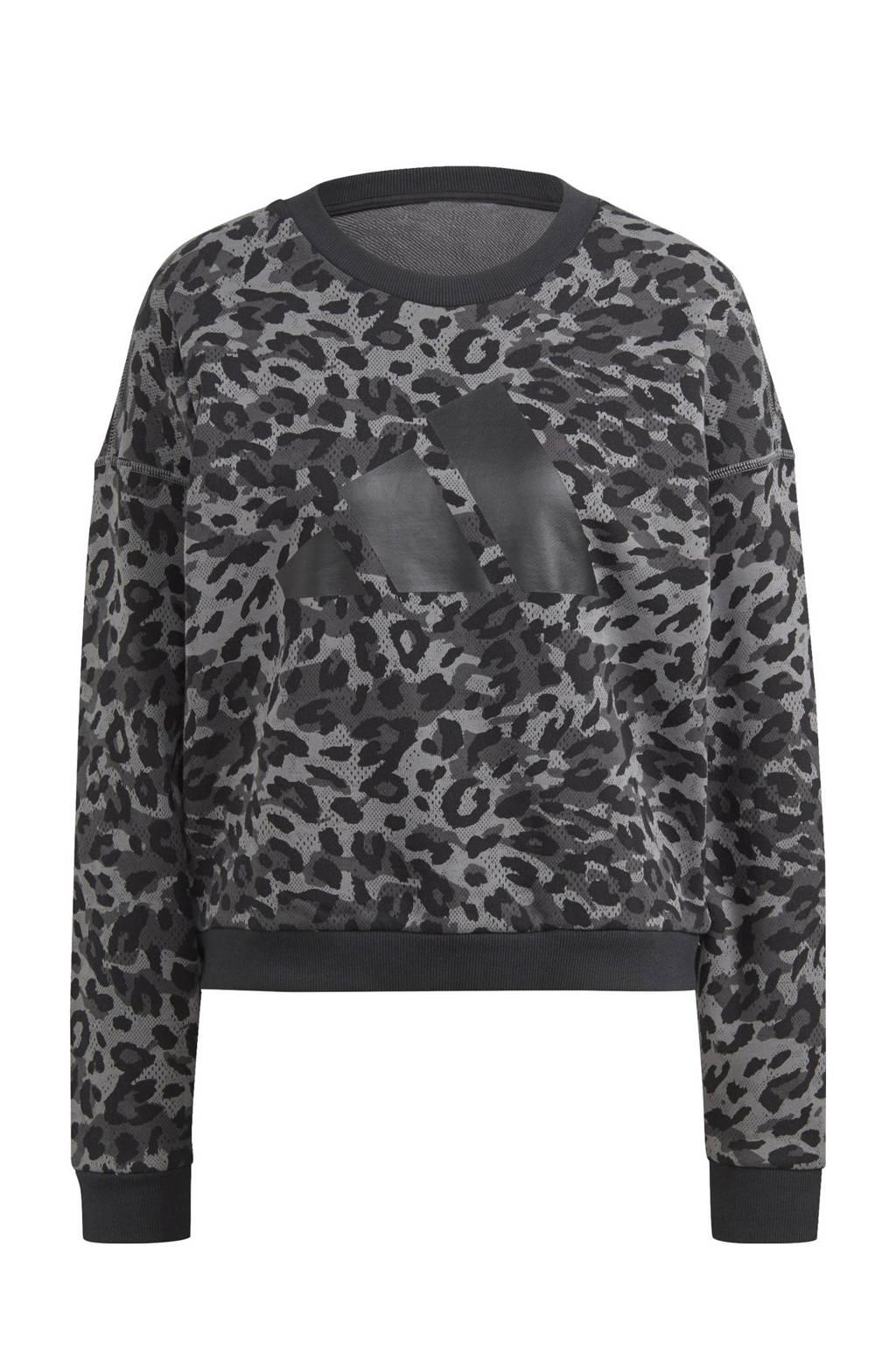 adidas Performance sportsweater grijs, Grijs