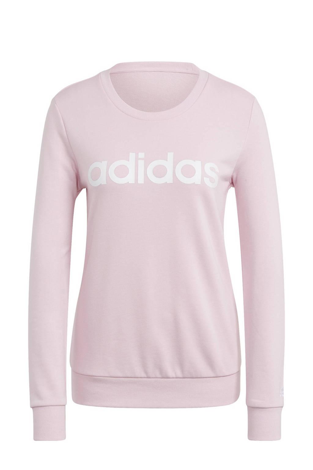 adidas Performance sportsweater lichtroze/wit, Lichtroze/wit