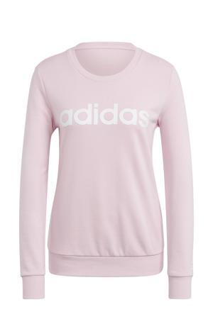 sportsweater lichtroze/wit