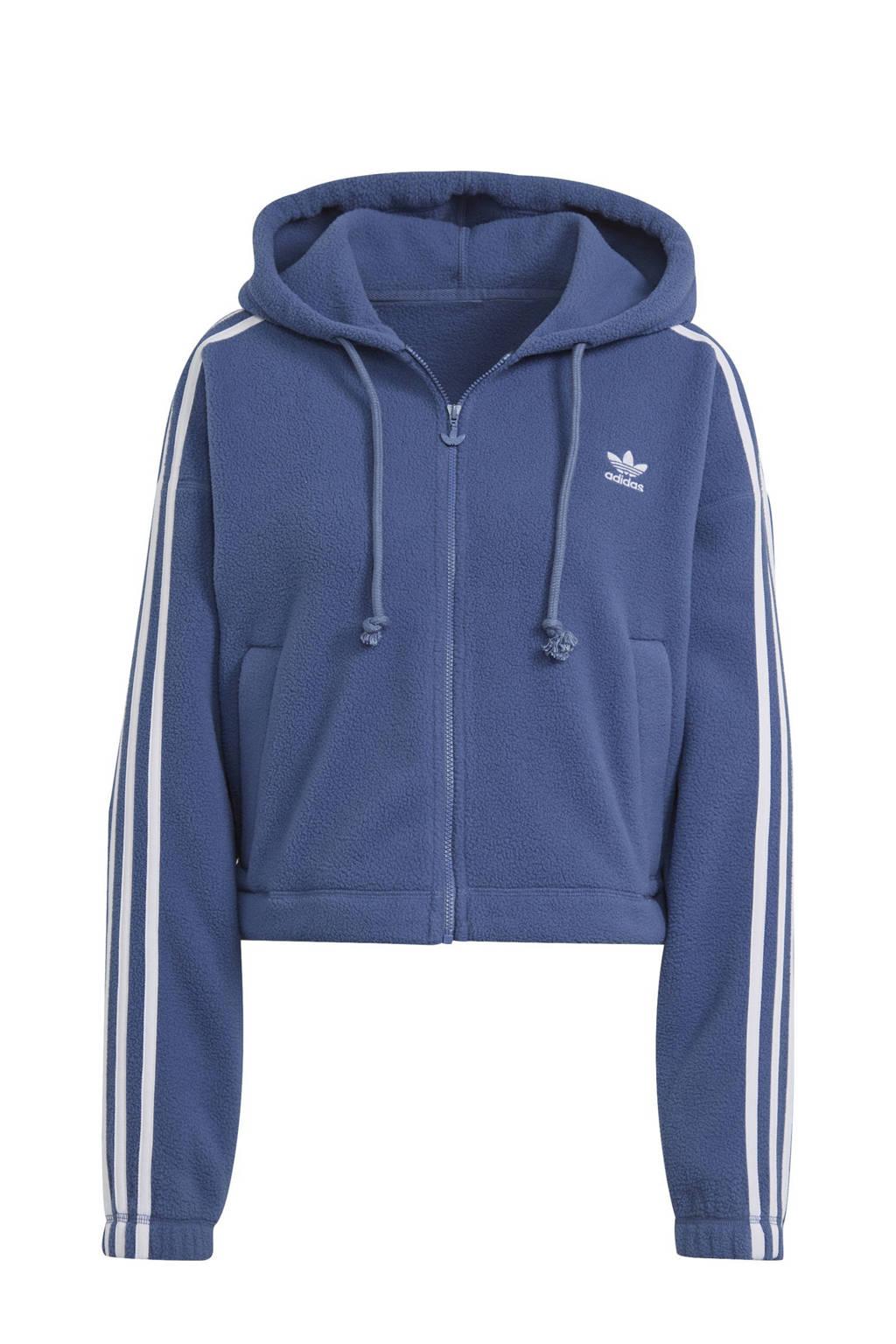 adidas Originals Adicolor vest blauw/wit, Blauw/wit