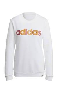 adidas Performance sportsweater wit, Wit