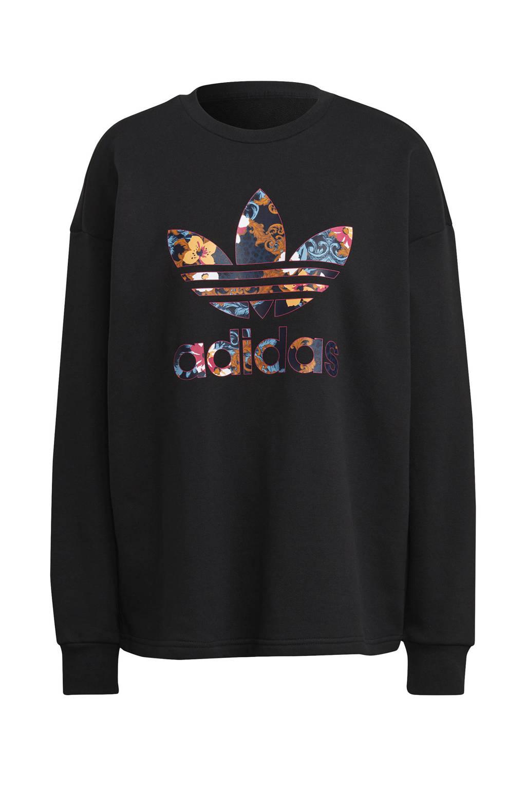 adidas Originals sweater zwart/multi, Zwart