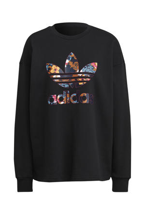 sweater zwart/multi