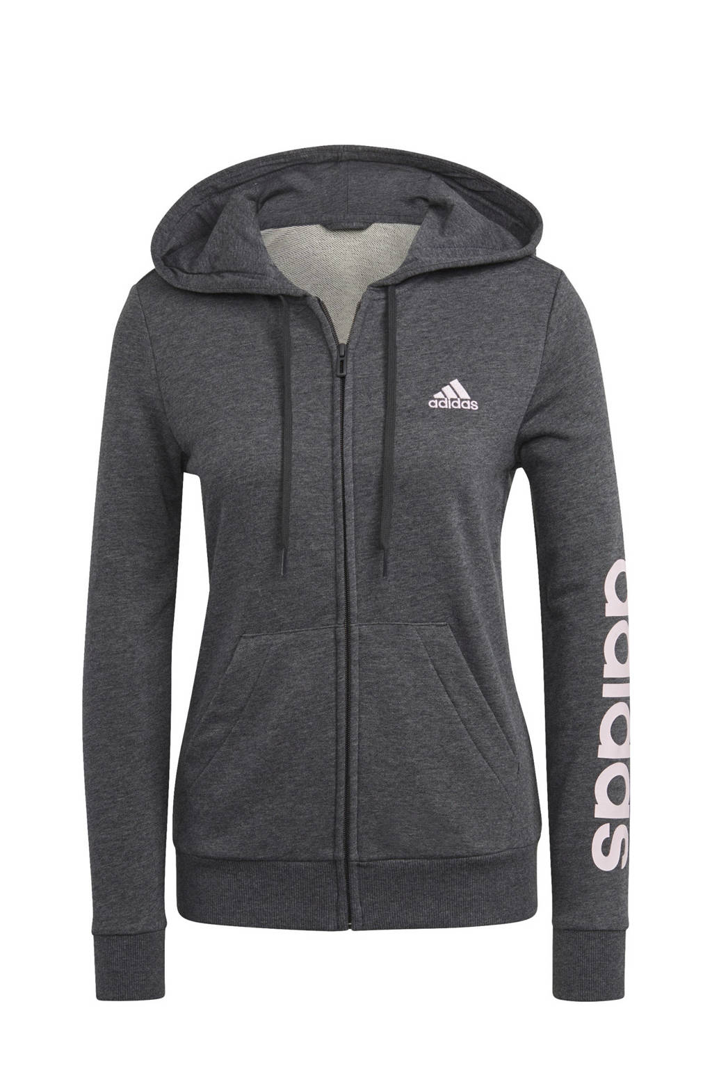 adidas Performance sportvest grijs/lichtroze, Grijs/lichtroze