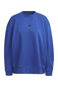 adidas Originals sweater kobaltblauw, Kobaltblauw