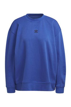 sweater kobaltblauw
