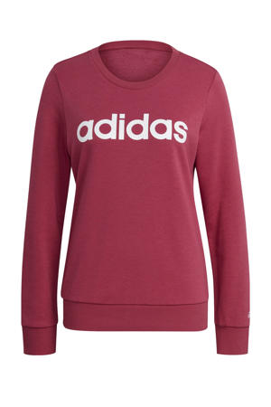 sportsweater donkerroze/wit