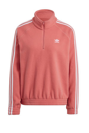 Adicolor fleecesweater lichtroze