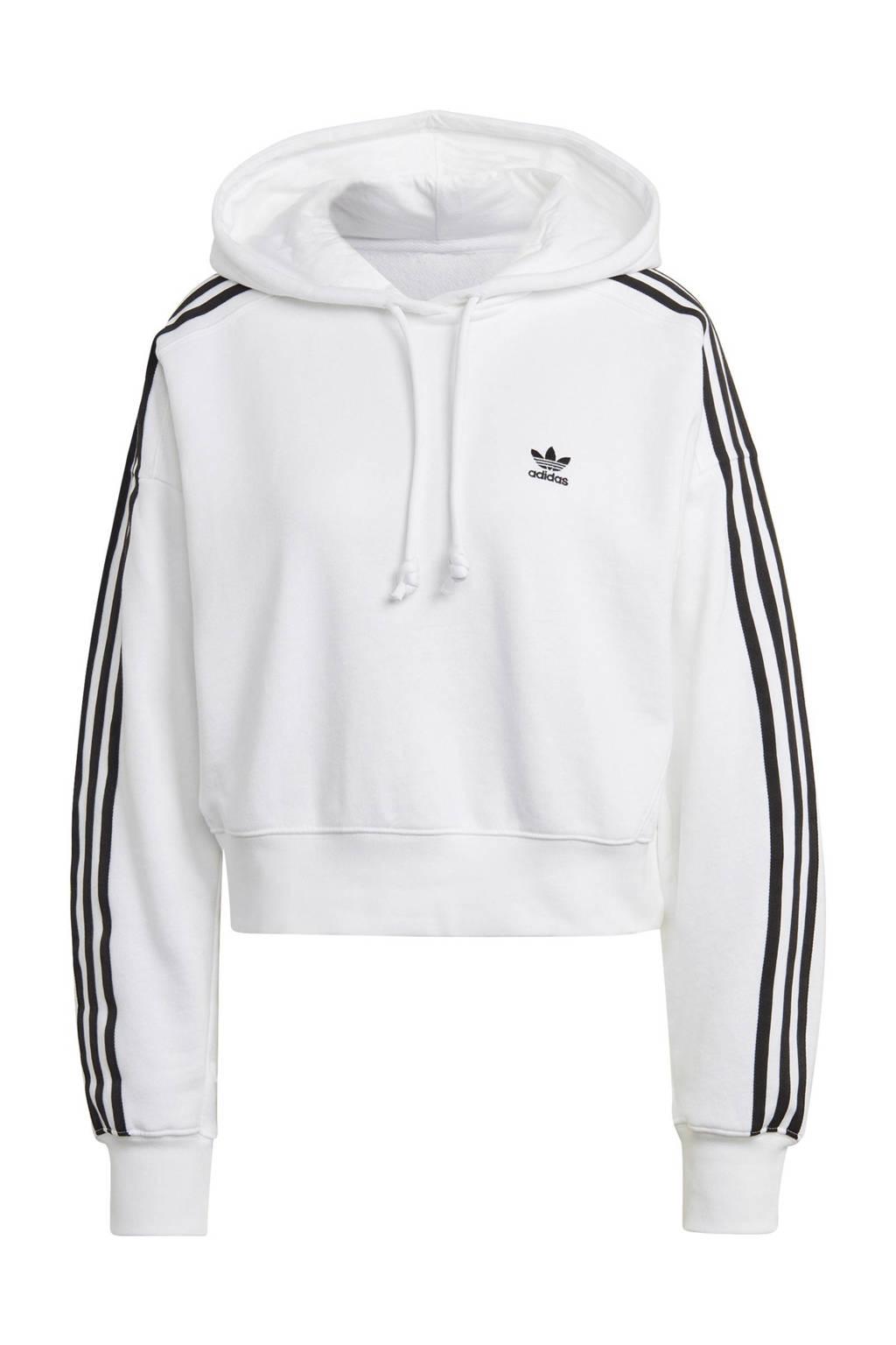 adidas Originals Adicolor hoodie wit, Wit
