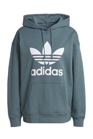 Adicolor hoodie petrol