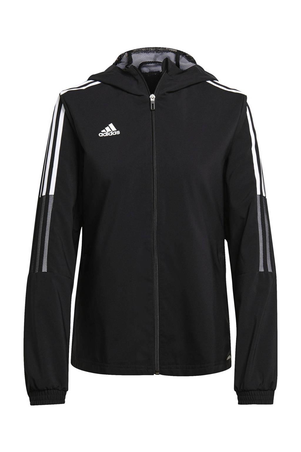 adidas Performance Tiro 21 voetbaljack zwart, Zwart