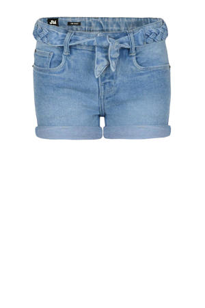 skinny fit jeans short Isa blauw