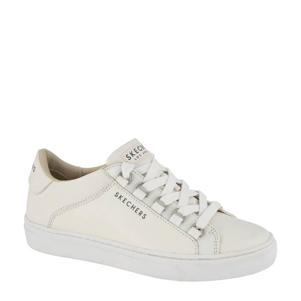 Skechers   leren sneakers wit, Wit