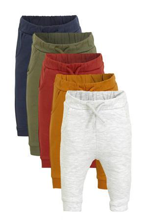 baby broek - set van 5 multicolor