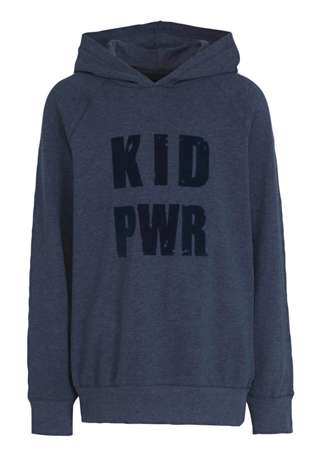 C&A Palomino hoodie met tekst donkerblauw, Donkerblauw