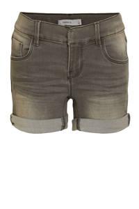 NAME IT KIDS jeans short Salli grijs stonewashed, Grijs stonewashed