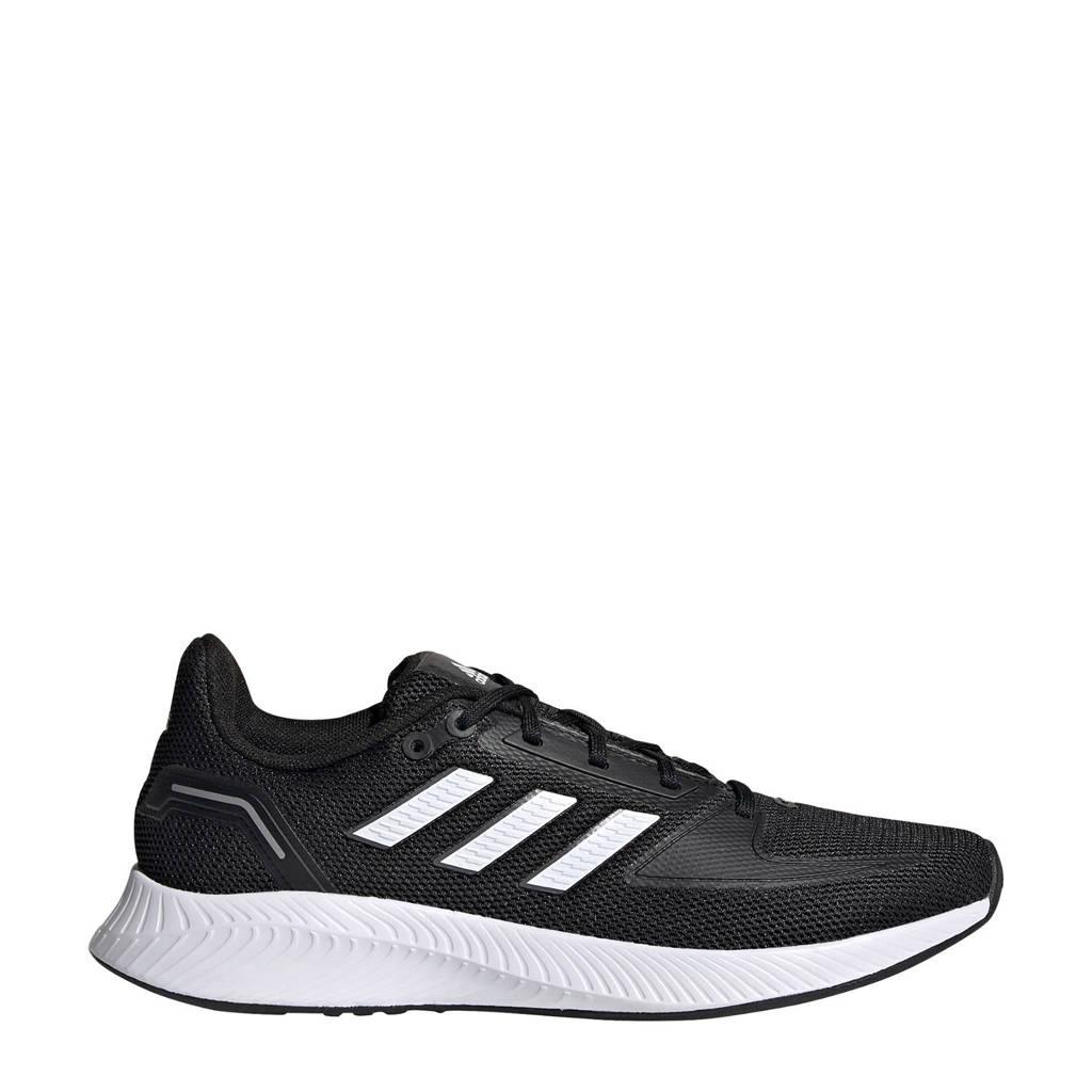 adidas Performance Runfalcon 2.0 hardloopschoenen zwart/wit/grijs, Zwart/wit/grijs