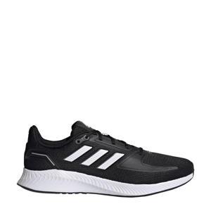Runfalcon 2.0 hardloopschoenen zwart/wit/grijs