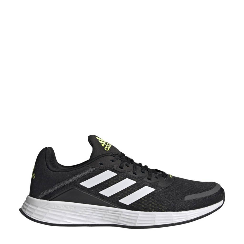 adidas Performance Duramo Sl Classic hardloopschoenen zwart/wit/geel, Zwart/wit/geel