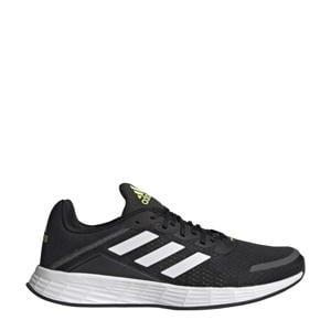 Duramo Sl Classic Lightmotion  hardloopschoenen zwart/wit/geel
