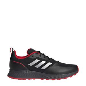 Runfalcon 2.0 Trail hardloopschoenen zwart/zilver/grijs
