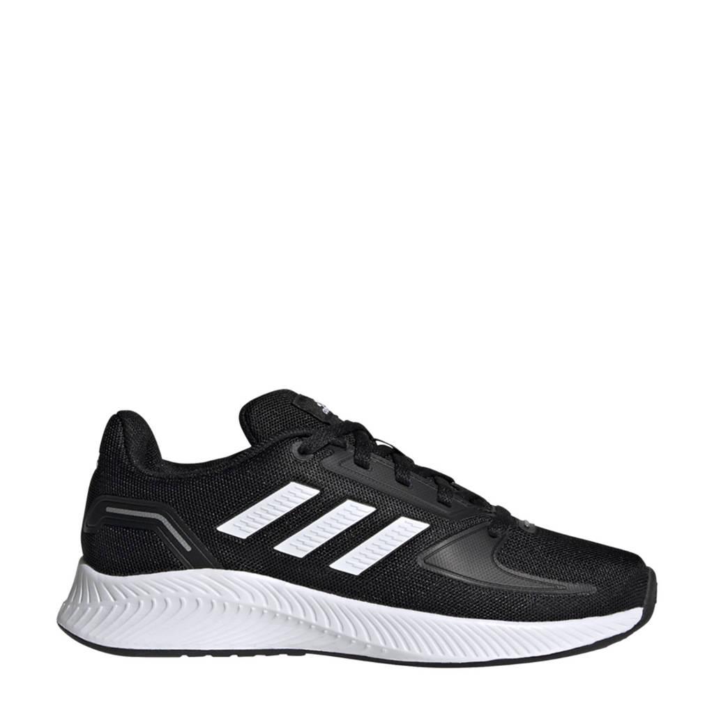 adidas Performance Runfalcon 2.0 Classic sneakers zwart/wit kids, Zwart/wit