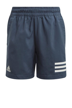 sportshort donkerblauw/wit