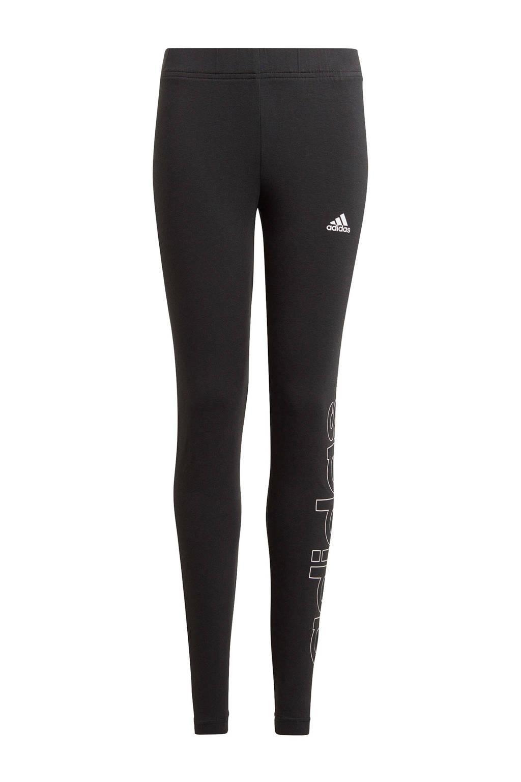 adidas Performance sportlegging zwart/wit, Zwart/wit