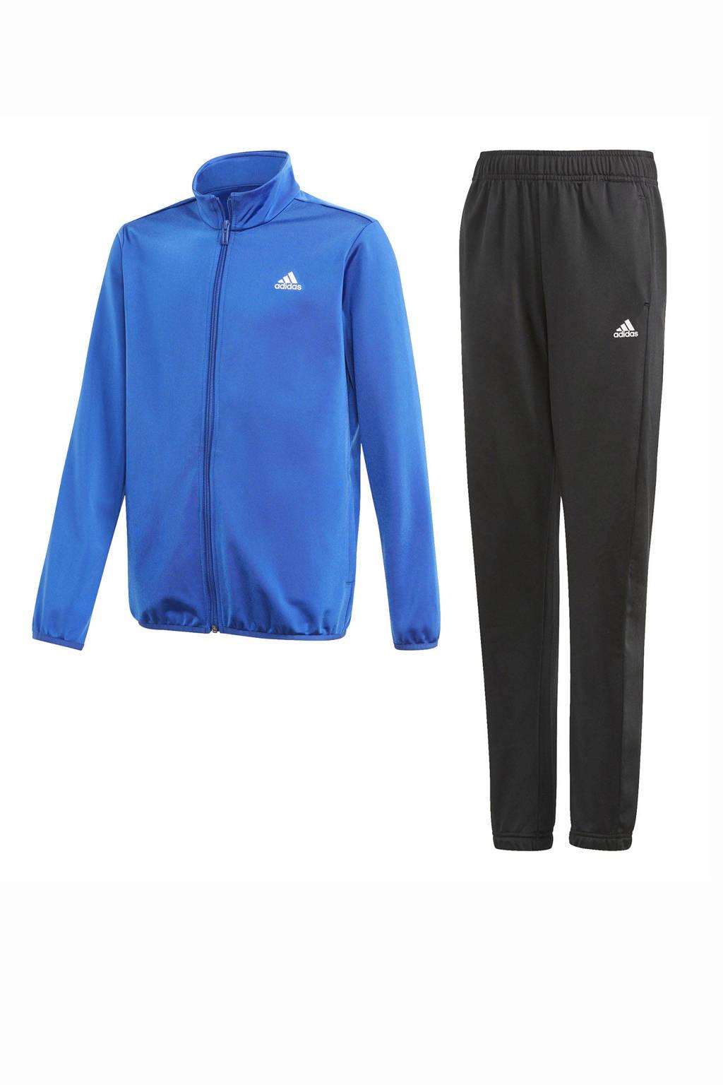 adidas Performance   trainingspak kobaltblauw/zwart, Kobaltblauw/zwart