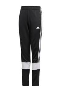 adidas Performance   trainingsbroek zwart/wit, Zwart/wit